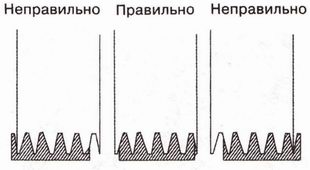 убедитесь, что при установке ремня привода генератора клиновые дорожки совпали с ручьями шкивов