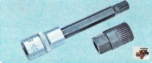 специальный ключ для снятия шкива с вала генератора