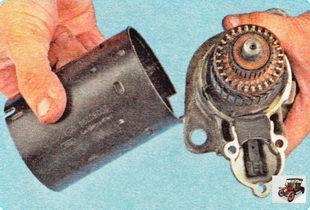 статор и крышка стартера