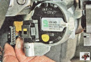 колодка жгута проводов контактной группы замка зажигания
