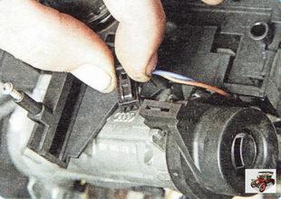 колодка жгута проводов антенны иммобилайзера