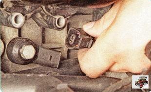 колодка жгута проводов датчика детонации