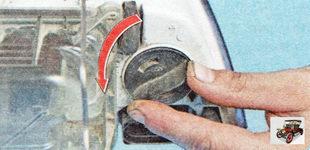 патрон лампы переднего указателя поворота Шкода Октавия А5