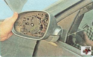 корпус бокового зеркала