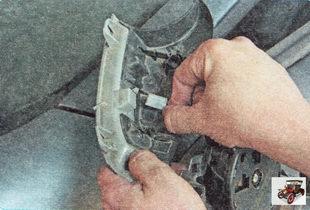 колодка жгута проводов указателя поворота