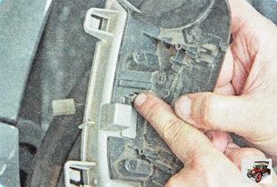 фиксатор бокового указателя поворота
