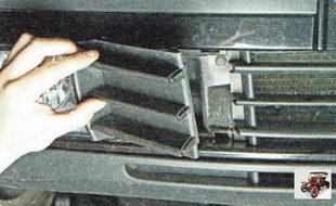 декоративная решетка противотуманной фары