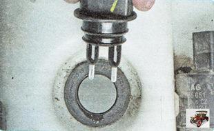 датчик уровня омывающей жидкости Шкода Октавия А5