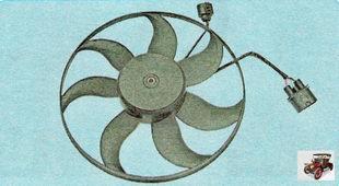 электродвигатели радиатора охлаждения двигателя Шкода Октавия А5