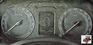 панель приборов Шкода Октавия А5