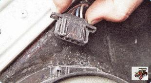 колодка жгута проводов динамика передней двери Шкода Октавия А5
