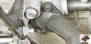 Двигатель может перегреться в случае выхода из строя термостата