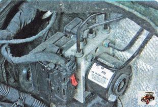 антиблокировочная система тормозов (ABS) Шкода Октавия А5