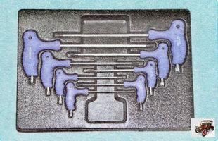 набор торцовых ключей TORX типов Т
