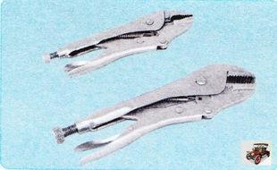 разводной цанговый ключ и струбцины