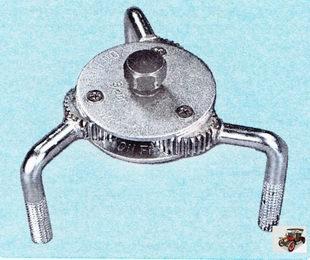 специальный ключ для масляного фильтра