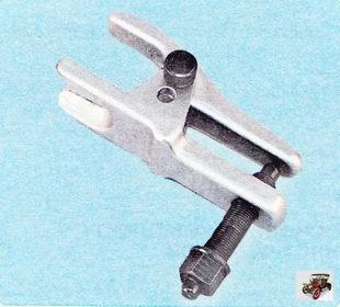 съемник для выпрессовки пальцев шаровых шарниров подвески и наконечников рулевых тяг