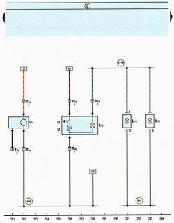 Схема розетка, прикуриватель, освещение розетки, пепельницы автомобиля Шкода Октавия А5