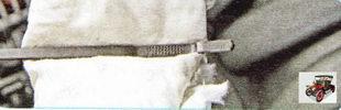 масляный щуп для проверки уровня масла