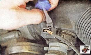 разъём колодки клапана системы рециркуляции выхлопных газов