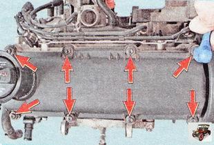 винты крепления крышки головки блока цилиндров