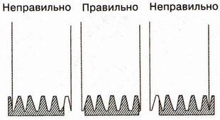 при установке ремня привода вспомогательных агрегатов клиновые дорожки совпали с ручьями шкивов
