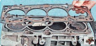 прокладка головки блока цилиндров Шкода Октавия А5