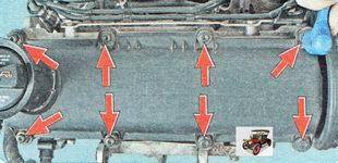 болты крепления крышки головки блока цилиндров Шкода Октавия А5