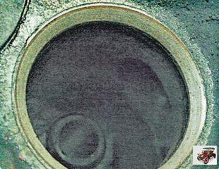 на седле клапана после притирки также должен появиться блестящий поясок