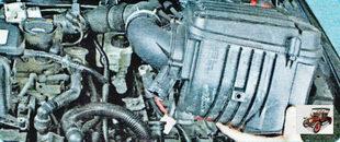 воздушный фильтр с воздуховодом