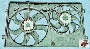 Электровентиляторы системы охлаждения радиатора Шкода Октавия А5