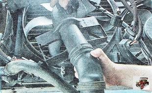 воздухоподводящий рукав в сборе с диффузором