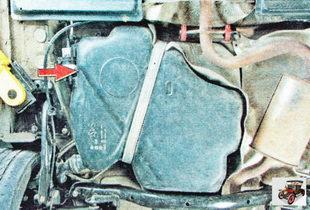 топливный бак Шкода Октавия А5