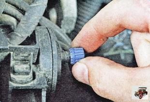 колпачок штуцера замера давления на топливной рампе