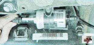 возвратный шланг топливного модуля