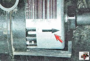 направление установки топливного фильтра