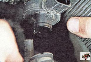 шланг системы рециркуляции выхлопных газов