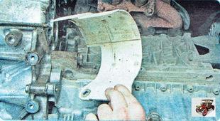 термоэкран привода передних колес