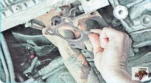уплотнительная прокладка приемной трубы глушителя Шкода Октавия А5