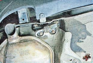 подушка кронштейна крепления основного глушителя