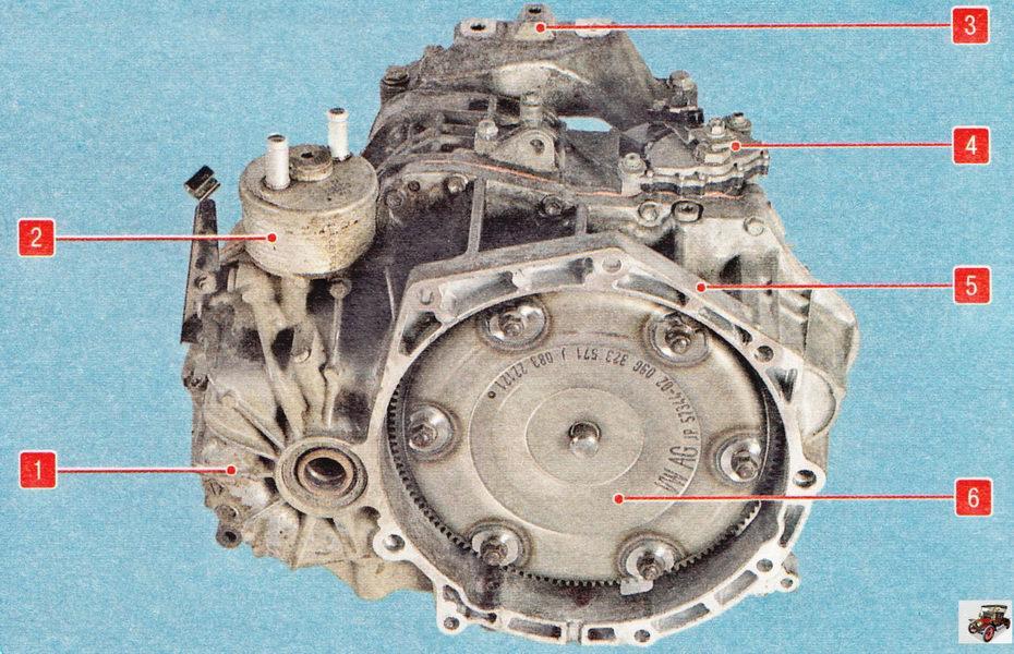 Автоматическая коробка передач Шкода Октавия А5