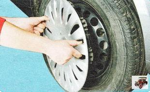 декоративный колпак колеса