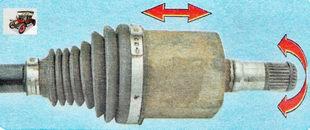 внутренний ШРУС (шарнир равных угловых скоростей)