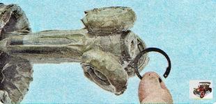 стопорное кольцо ступицы шарнира