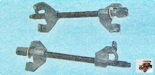 приспособление для сжатия пружин амортизатора