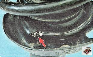 порядок установки пружины амортизатора