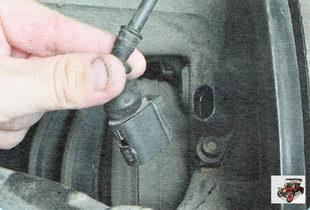 колодка жгута проводов датчика частоты вращения колеса