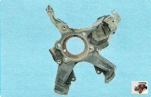 поворотный кулак передней подвески Шкода Октавия А5