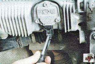 фиксатор колодки жгута проводов датчика уровня масла