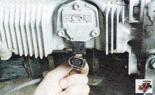 колодка жгута проводов датчика уровня масла